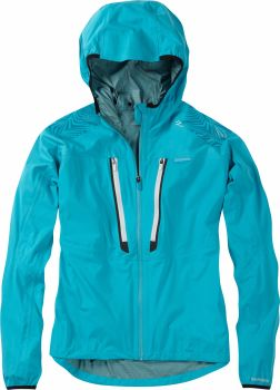 Madison Flux Super Light Womens Waterproof Softshell Jacket Caribbean Blue