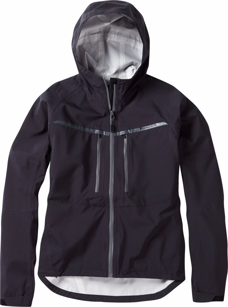 Madison Zena Womens Waterproof Jacket Black