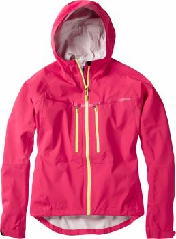 Madison Zena Womens Waterproof Jacket Rose Red