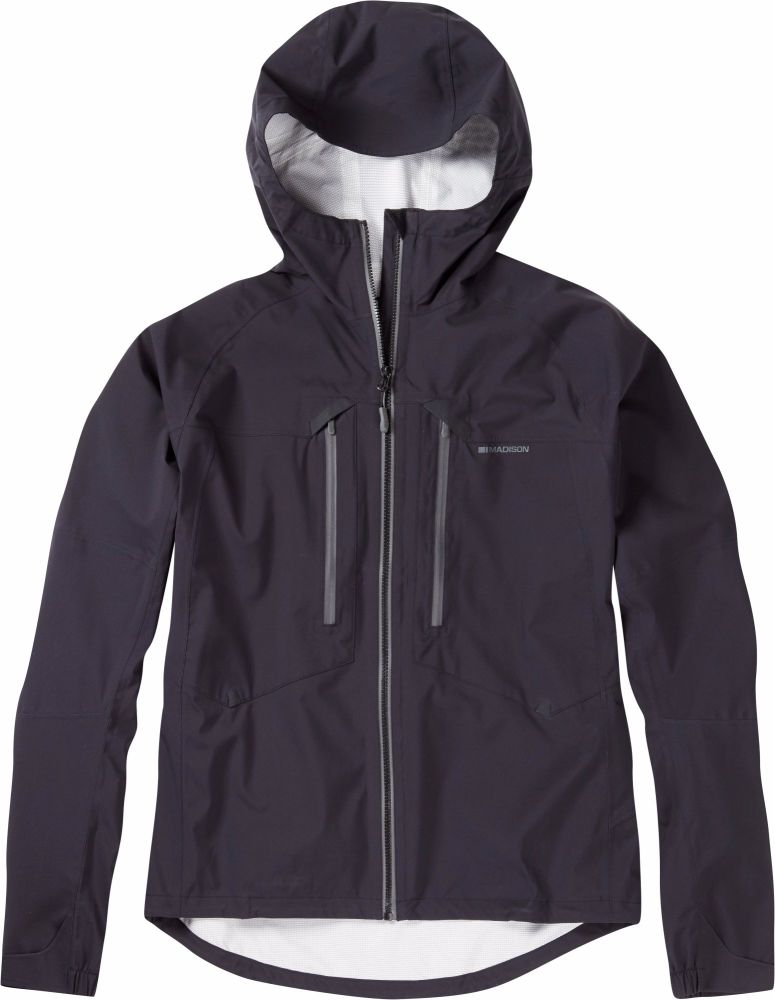 Madison Zenith Mens Waterproof Jacket Black