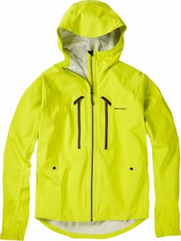 Madison Zenith Mens Waterproof Jacket Krypton Lime