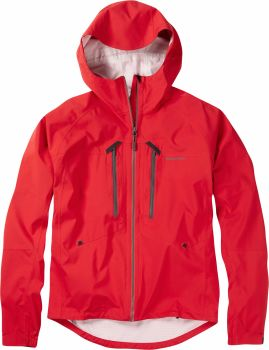 Madison Zenith Mens Waterproof Jacket True Red