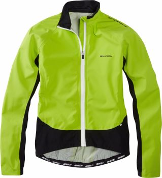Madison Sportive Hi Viz Womens Jacket Lime Green