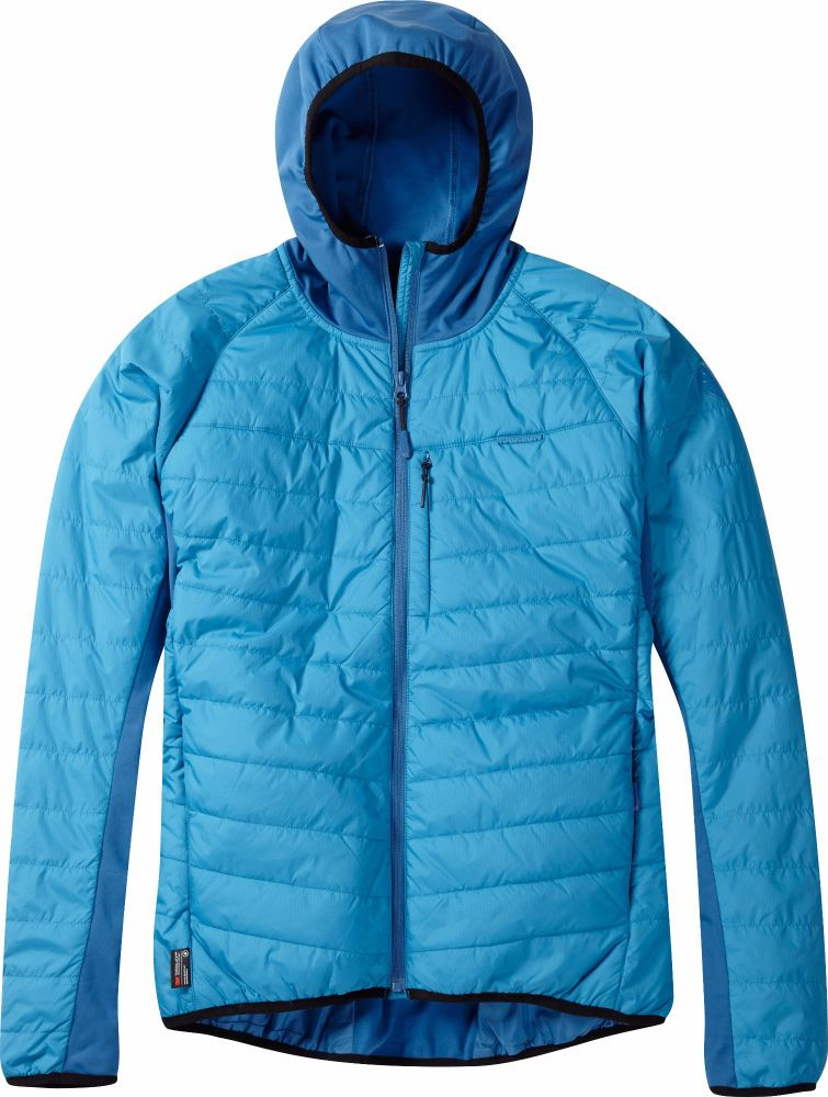 Madison DTE Mens Hybrid Jacket Caribbean Blue