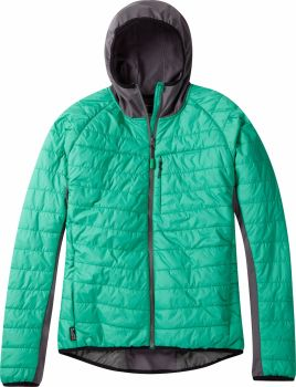 Madison DTE Mens Hybrid Jacket Emerald Green