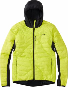 Madison DTE Mens Hybrid Jacket Limeaid