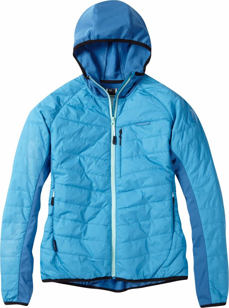 Madison DTE Womens Hybrid Jacket Caribbean Blue