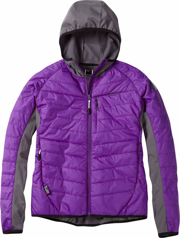 Madison DTE Womens Hybrid Jacket Imperial Purple