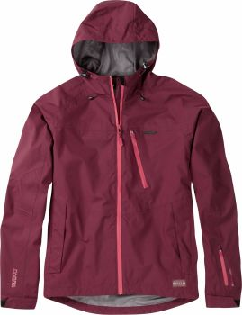 Madison Roam Mens Waterproof Jacket Andorra Red