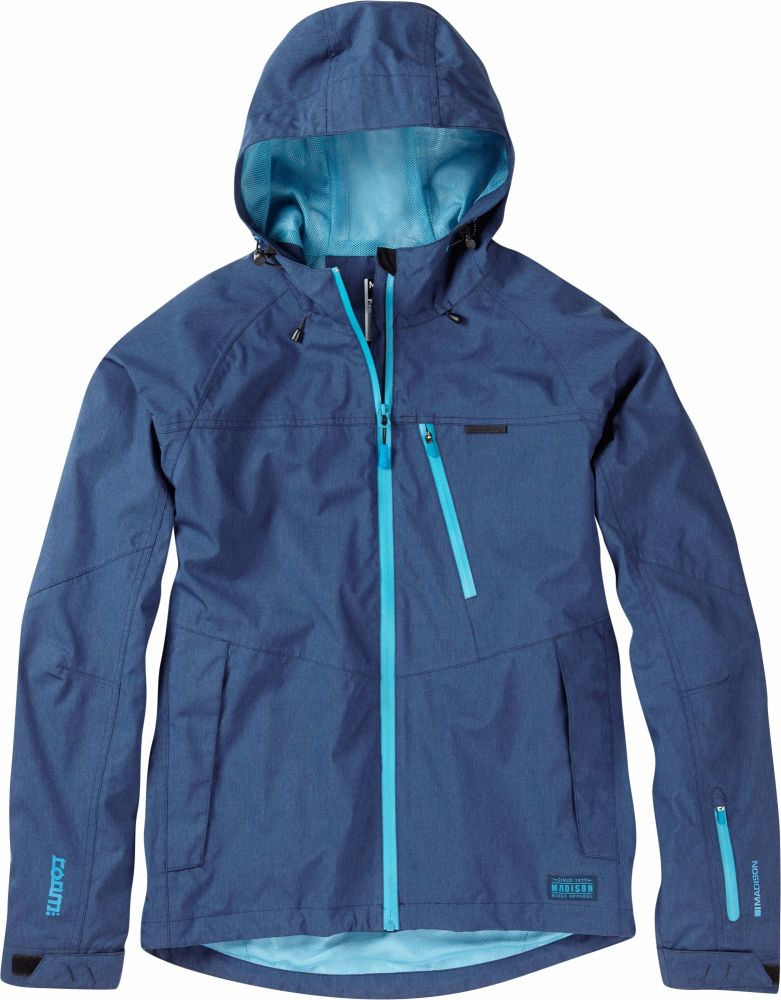 Madison Roam Mens Waterproof Jacket Atlantic Blue