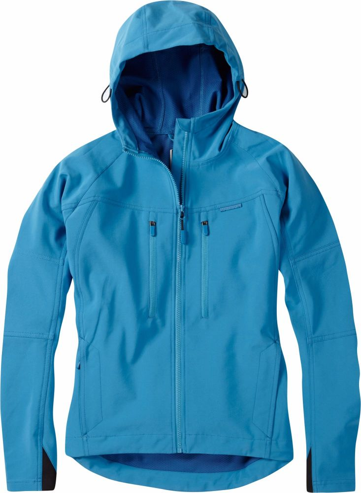 Madison Zena Womens Softshell Jacket Caribbean Blue
