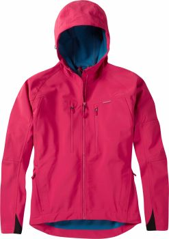 Madison Zena Womens Softshell Jacket Rose Red