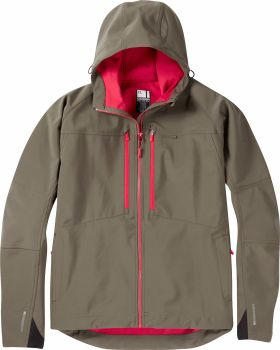 Madison Zenith Mens Softshell Jacket Dark Olive
