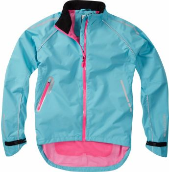 Madison Prima Womens Waterproof Jacket Bluefish
