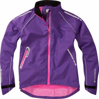 Madison Prima Womens Waterproof Jacket Electric Purple
