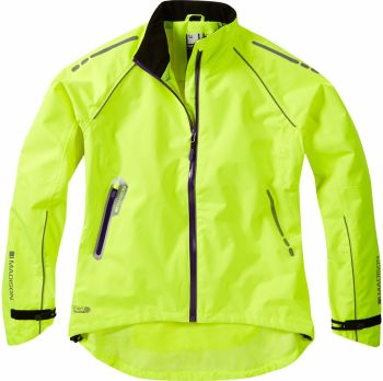 Madison Prima Womens Waterproof Jacket Hi-viz Yellow