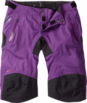 Madison DTE Womens Waterproof Shorts Imperial Purple