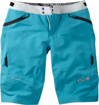 Madison Flux Womens Shorts Caribbean Blue