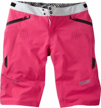 Madison Flux Womens Shorts Rose Red