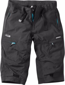 Madison Trail Womens 3/4 Shorts Black