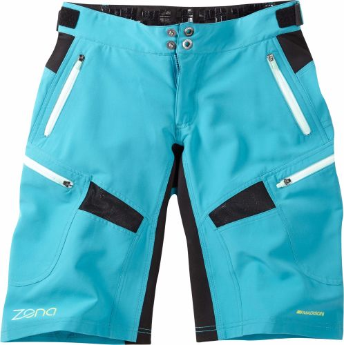 Madison Zena Womens Shorts Caribbean Blue