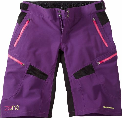 Madison Zena Womens Shorts Imperial Purple