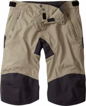 Madison DTE Mens Waterproof Shorts Olive Green