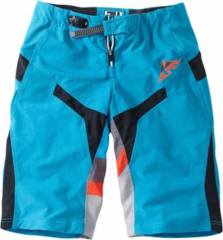 Madison Alpine Mens FR Shorts China Blue / Chilli Red
