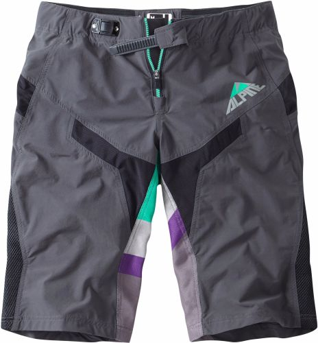 Madison Alpine Mens FR Shorts Phantom / Green