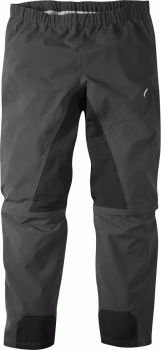 Madison Zenith Mens Zip-off Waterproof Trousers Phantom