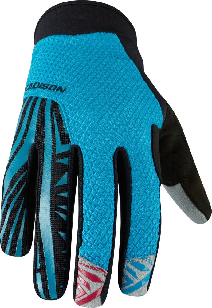 Madison Flux Mens Gloves Bay Blue / Black