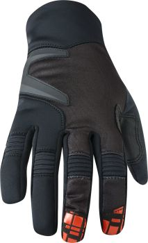 Madison Winter Storm Mens Softshell Gloves Black / Chilli Red