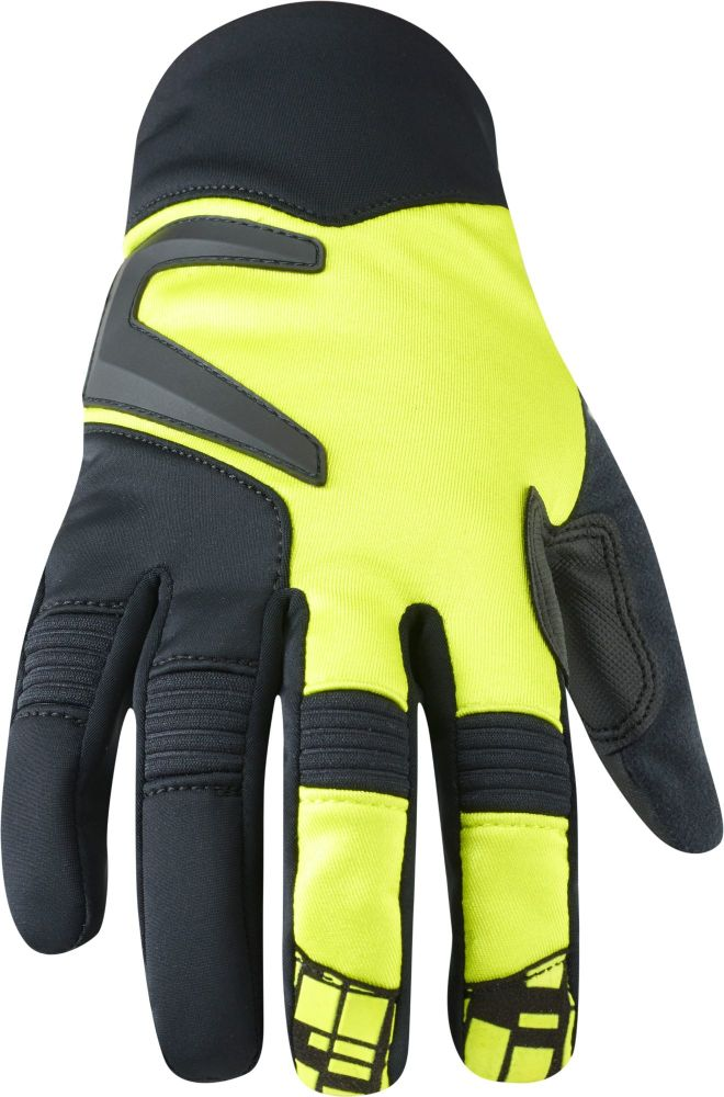 Madison Winter Storm Mens Softshell Gloves Limeaid