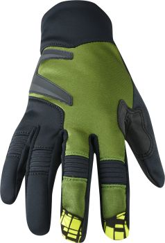 Madison Winter Storm Mens Softshell Gloves Olive Green