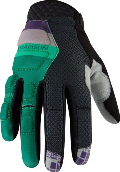 Madison Zenith Mens Gloves Oak Green / Cloud Grey