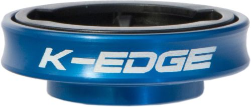 K-Edge Gravity Cap Mount for Garmin Edge Blue