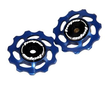 Hope 11 Tooth Jockey Wheels - Pair Blue