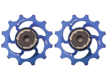 Hope 12 Tooth Jockey Wheels - Pair Blue