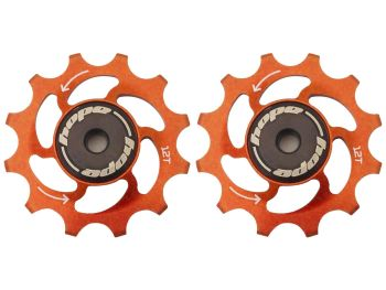 Hope 12 Tooth Jockey Wheels - Pair Orange