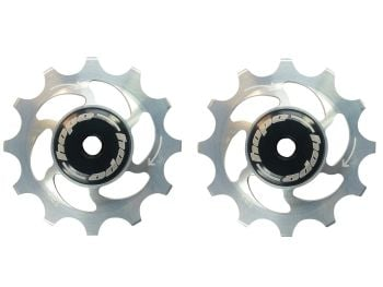Hope 12 Tooth Jockey Wheels - Pair Silver