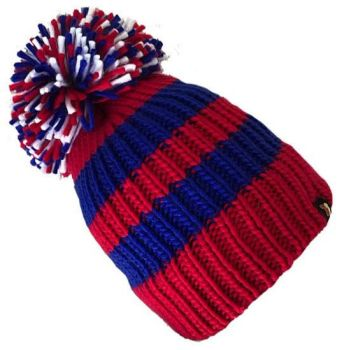 Big Bobble Hats - Papa Smurf - Red and Blue Bobble Hat
