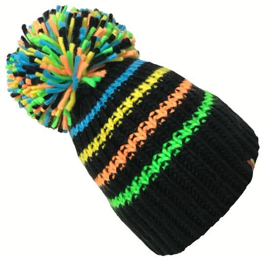 Big Bobble Hats - The Highlighter Bobble Hat