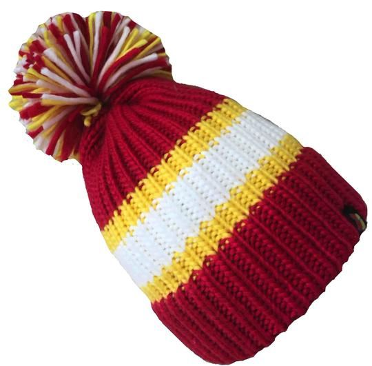 Big Bobble Hats - The Lifeguard - Red Bobble Hat