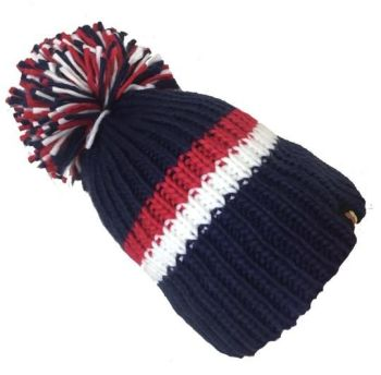 Big Bobble Hats - Wing Commander - Navy Bobble Hat