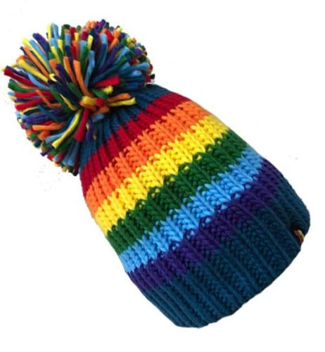 Big Bobble Hats - Smarty Party - Blue Bobble Hat