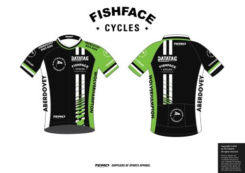 Wolverhampton to Aberdovey 2018 Official Jersey