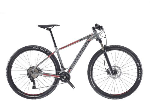 Bianchi Grizzly 9.3 Deore Grey/Black/Red