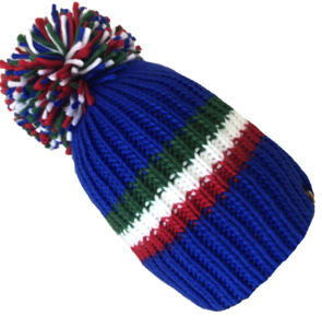 Big Bobble Hats - Italian Stallion - Blue Bobble Hat
