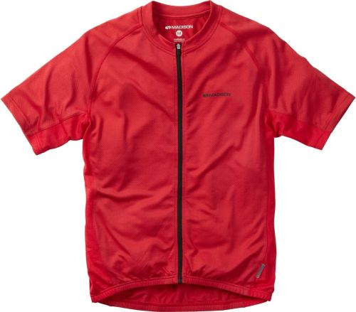 Madison Roam men's Short Sleeved Jersey True Red