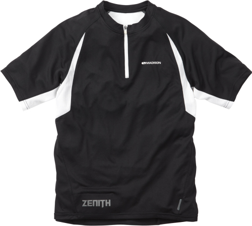 Madison Zenith Men's Short Sleeved Jersey Black